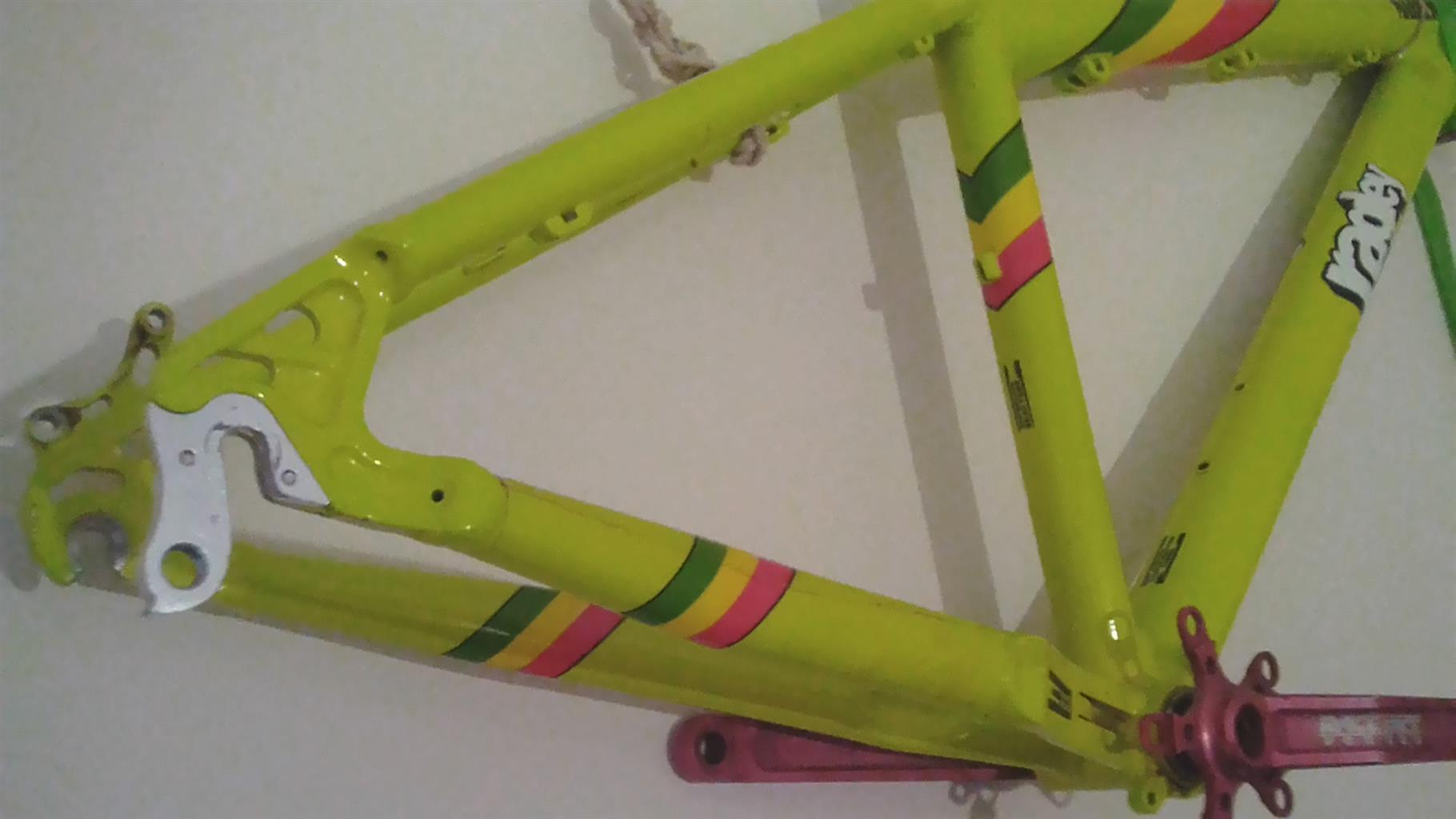 One of a kind Ragley Marley MTB frame