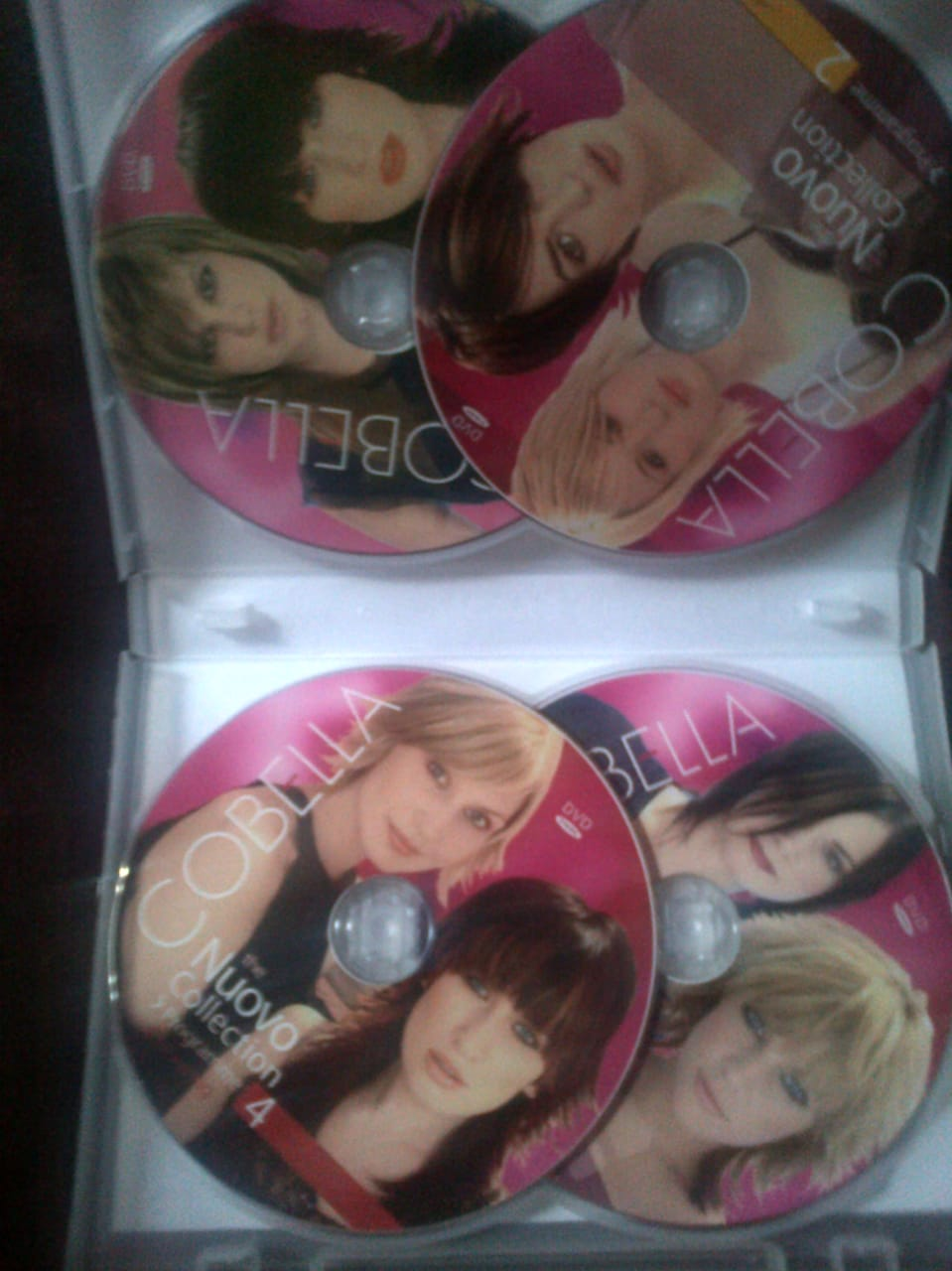 LEARNING HAIRCUT DVDs