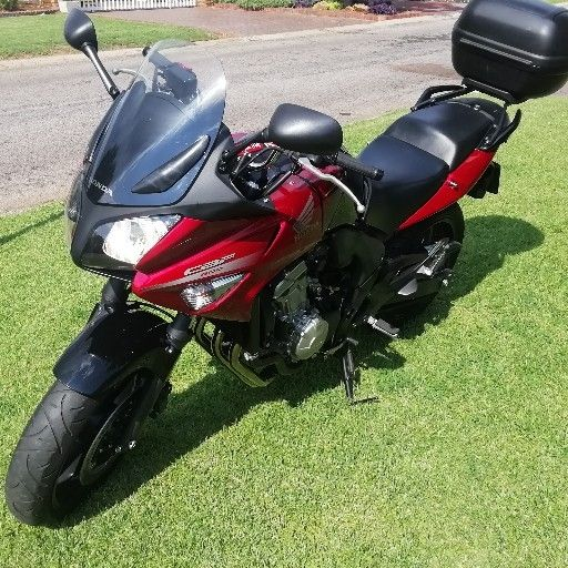 2012 Honda CBF600