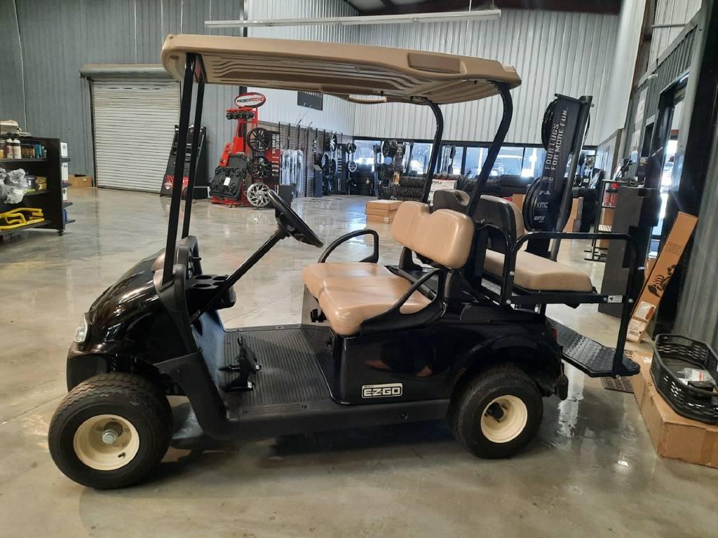 Black Innovative Golf Cart