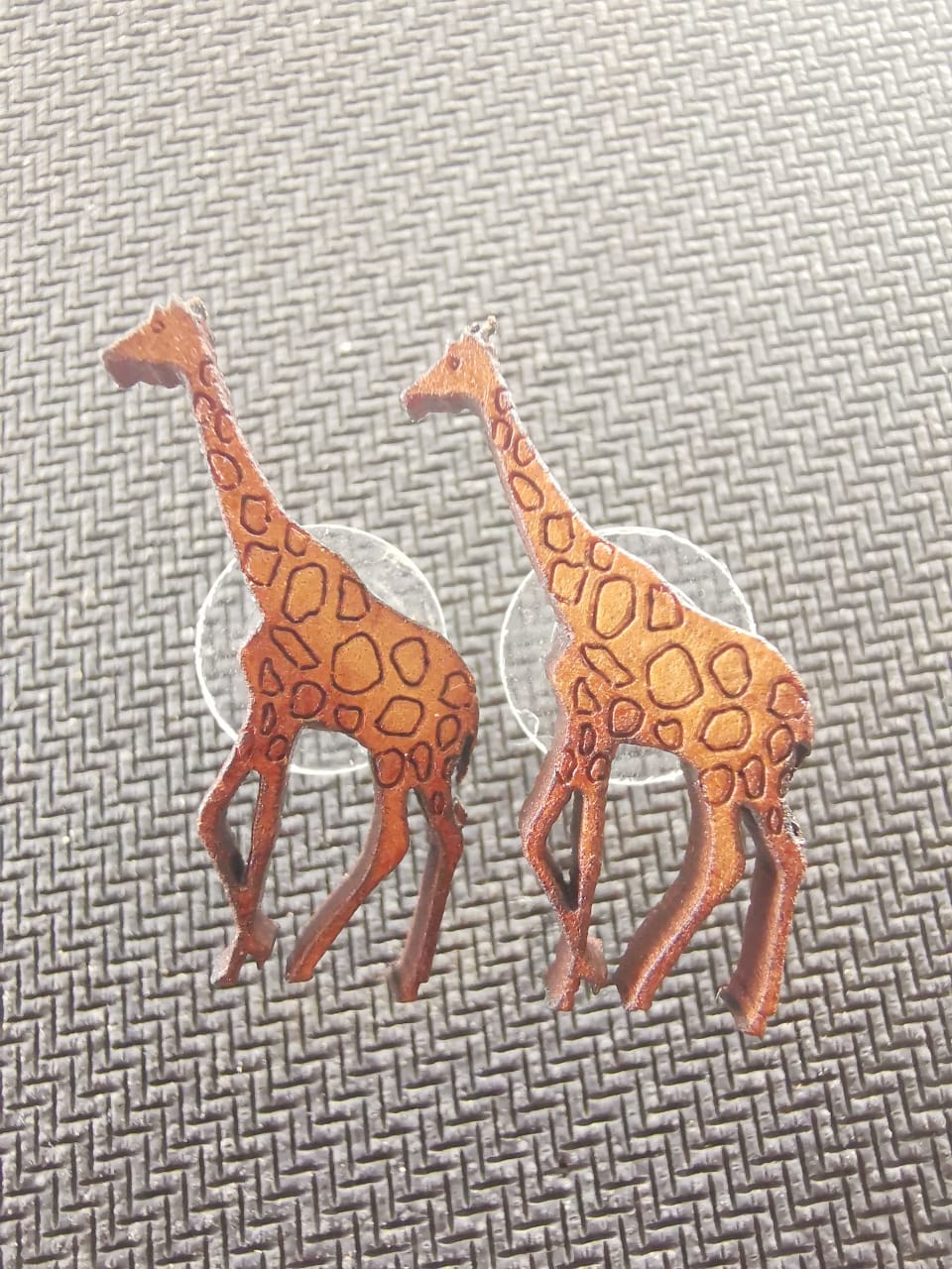 Wild themed earrings
