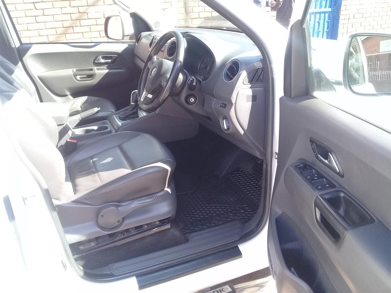 2014 VW Amarok double cab AMAROK 2.0 BiTDi HIGHLINE 132KW 4MOT A/T D/C P/U