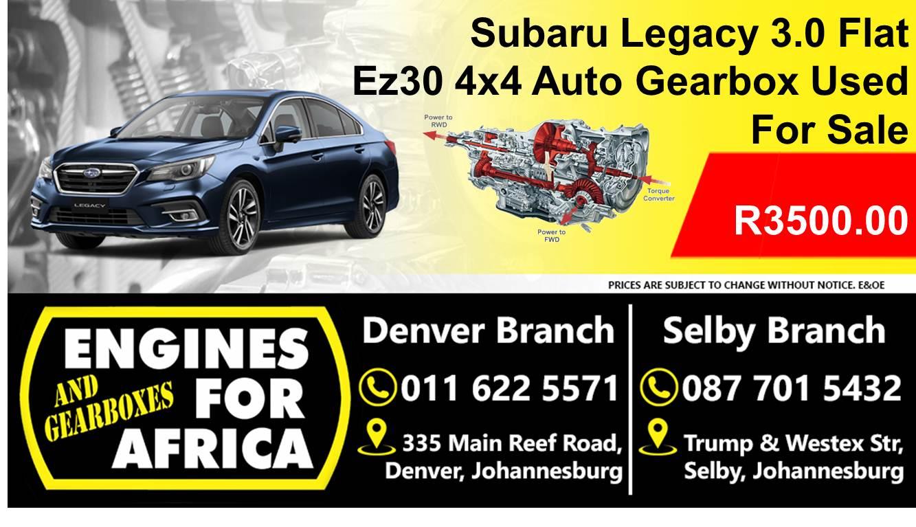 Subaru Legacy 3 0 Ez30 4x4 Flat Auto Gearbox Used For Sale