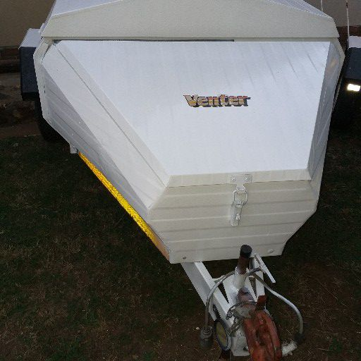 venter 5 foot trailer with nose cone