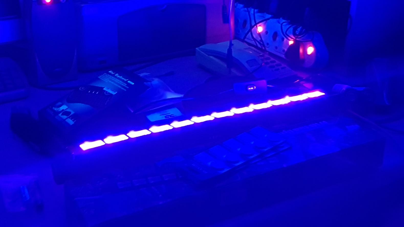 UV LED High Power Disco Party Light New
