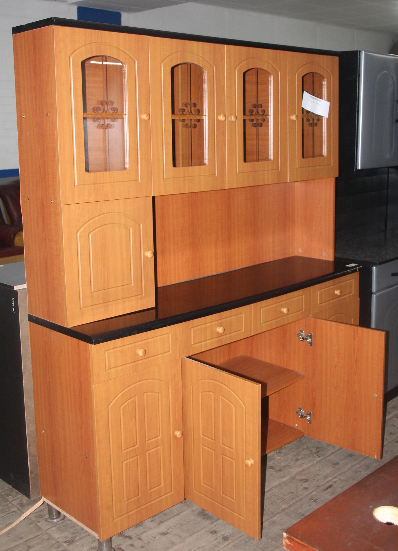 Brown kitchen cupboard S044826B #Rosettenvillepawnshop
