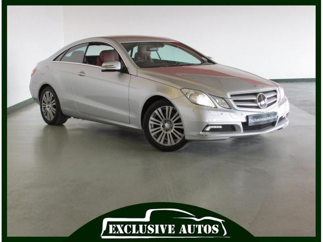 2009 Mercedes Benz E Class E350 Coupé Avantgarde