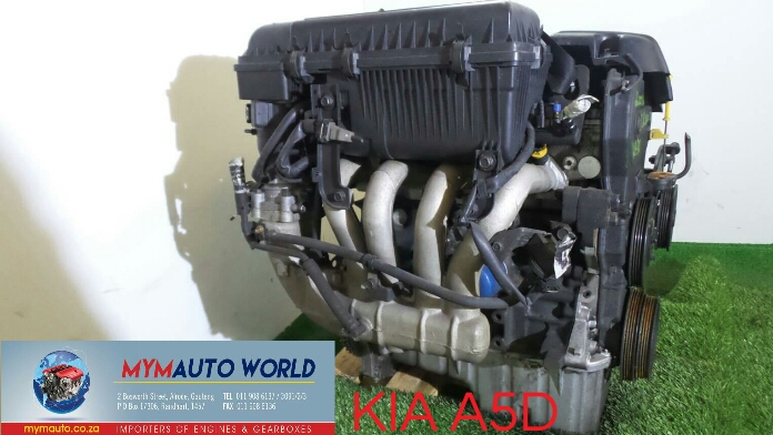 Imported used KIA RIO 1.5L, A5D engines Complete