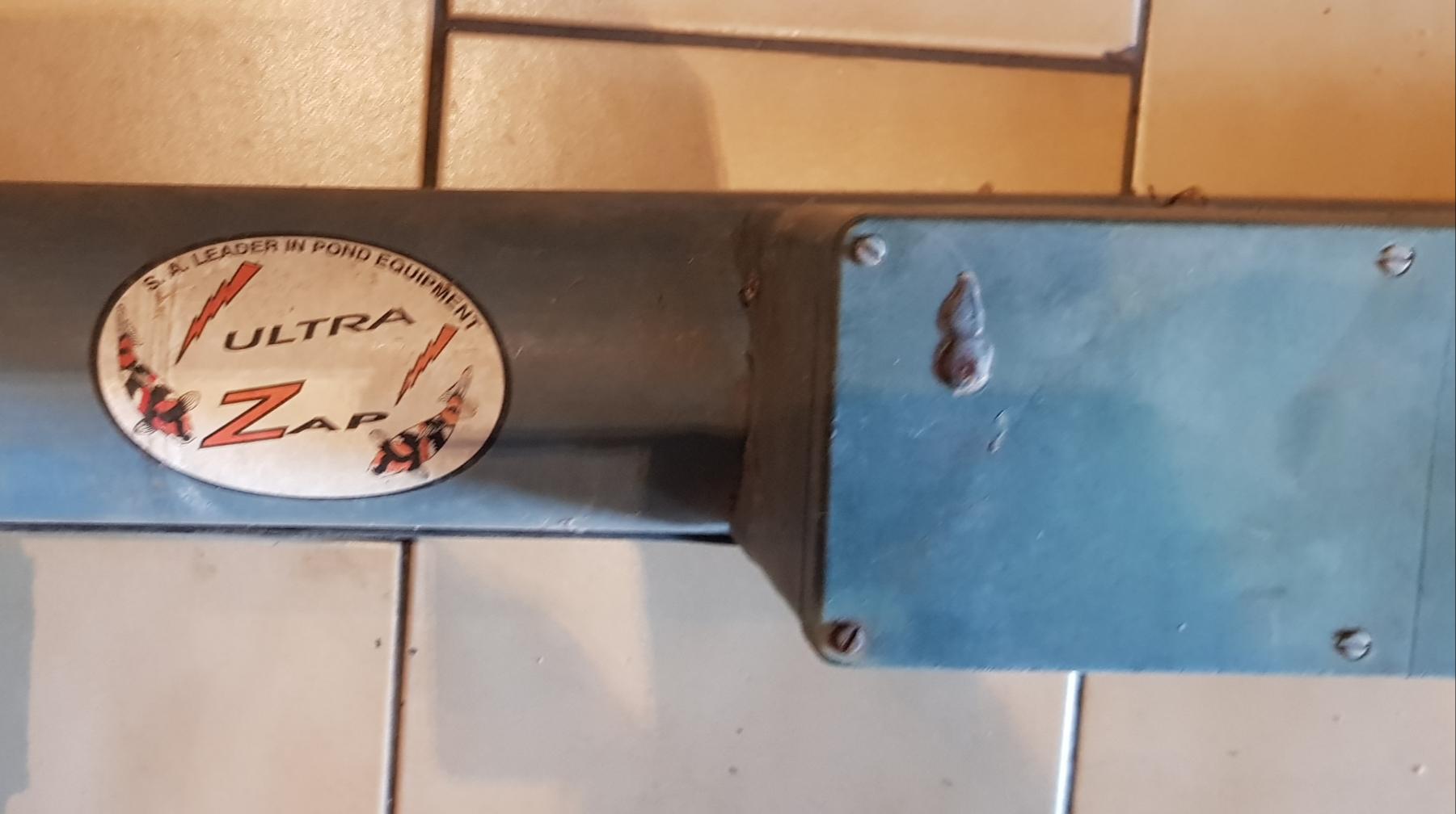 UV Utra Zap Pond Water Clarifier Sterilizer 55W 300LPM 2nd