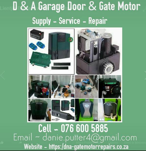 Quot Vereeniging Quot Garage Door And Gate Motor Service