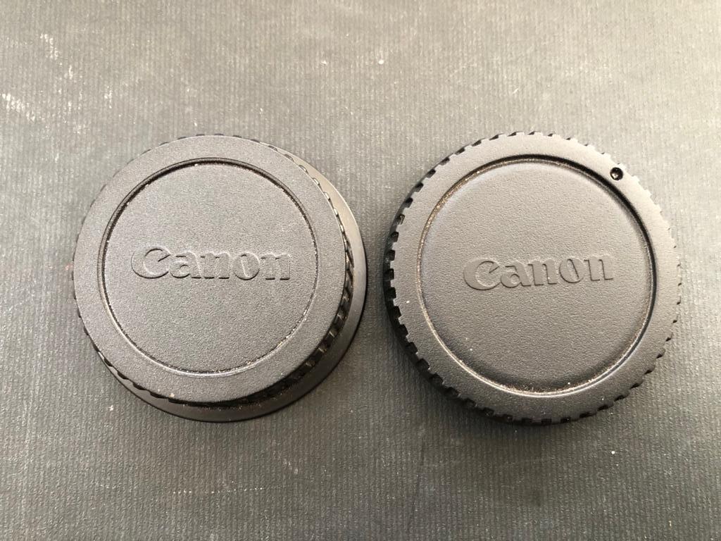 Canon Body & Near Lens Cap for Canon DSLR Camera