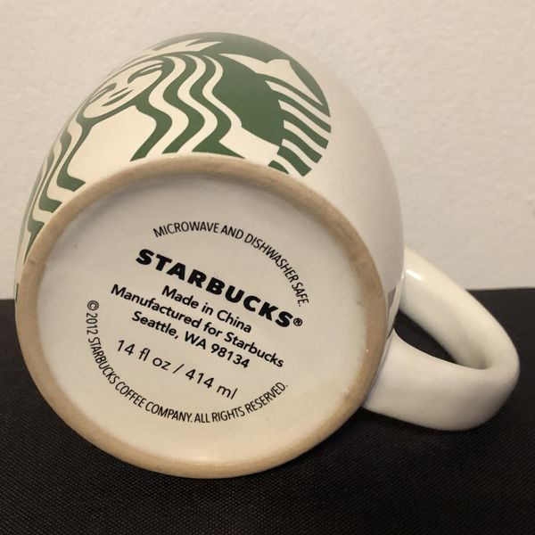 Starbucks Coffee Mail Mug CupJunk 2012 b6vmfYy7gI