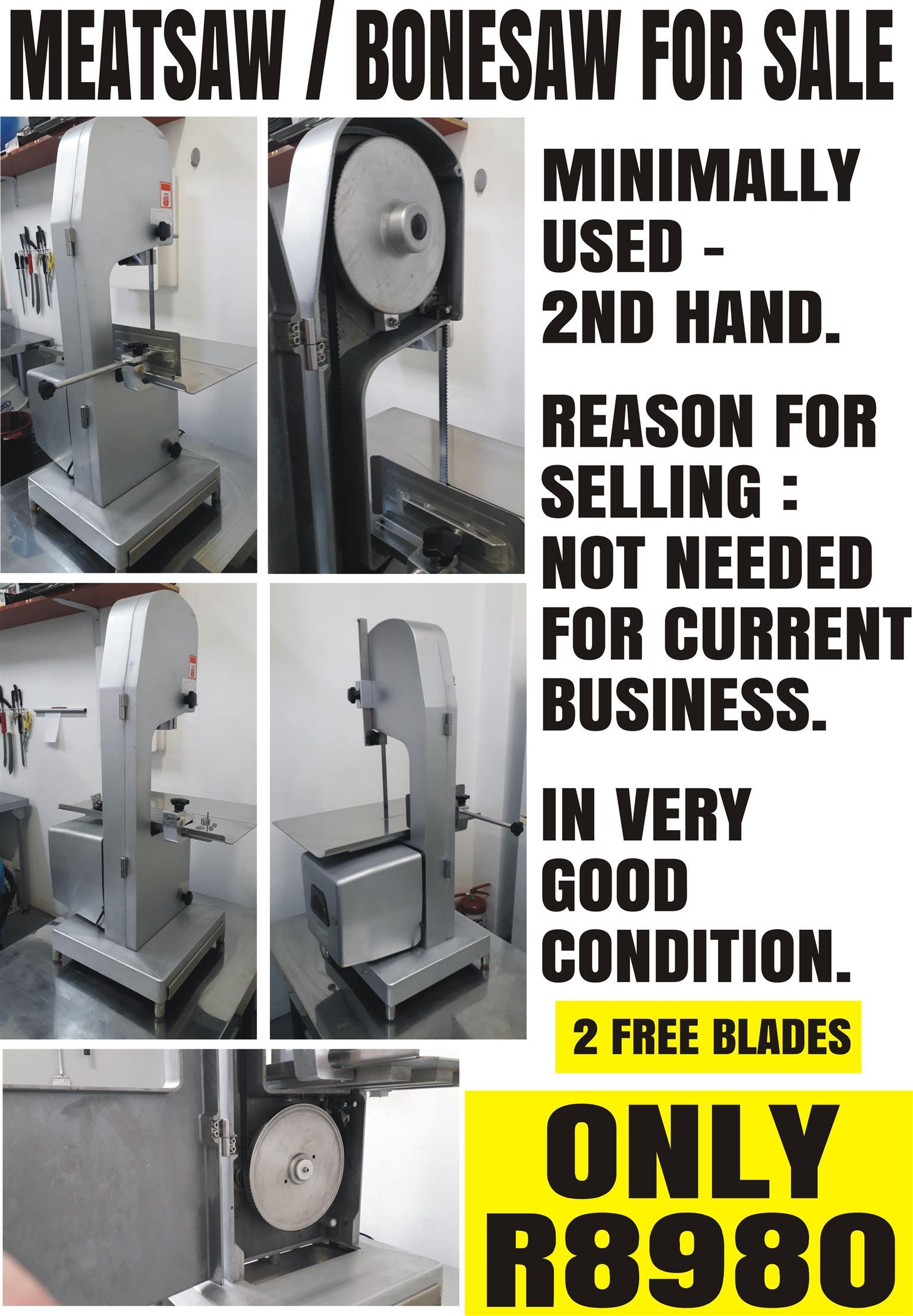 Bone saw / meat saw for sale