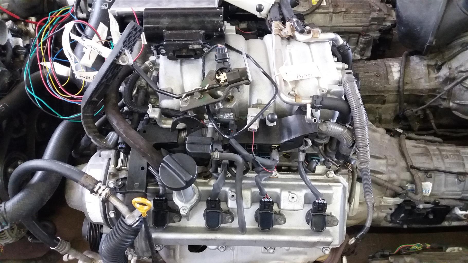 Lexus 4.3 V8 Prewired VVTi Engine & 6 Speed Auto Gearbox # 3UZ