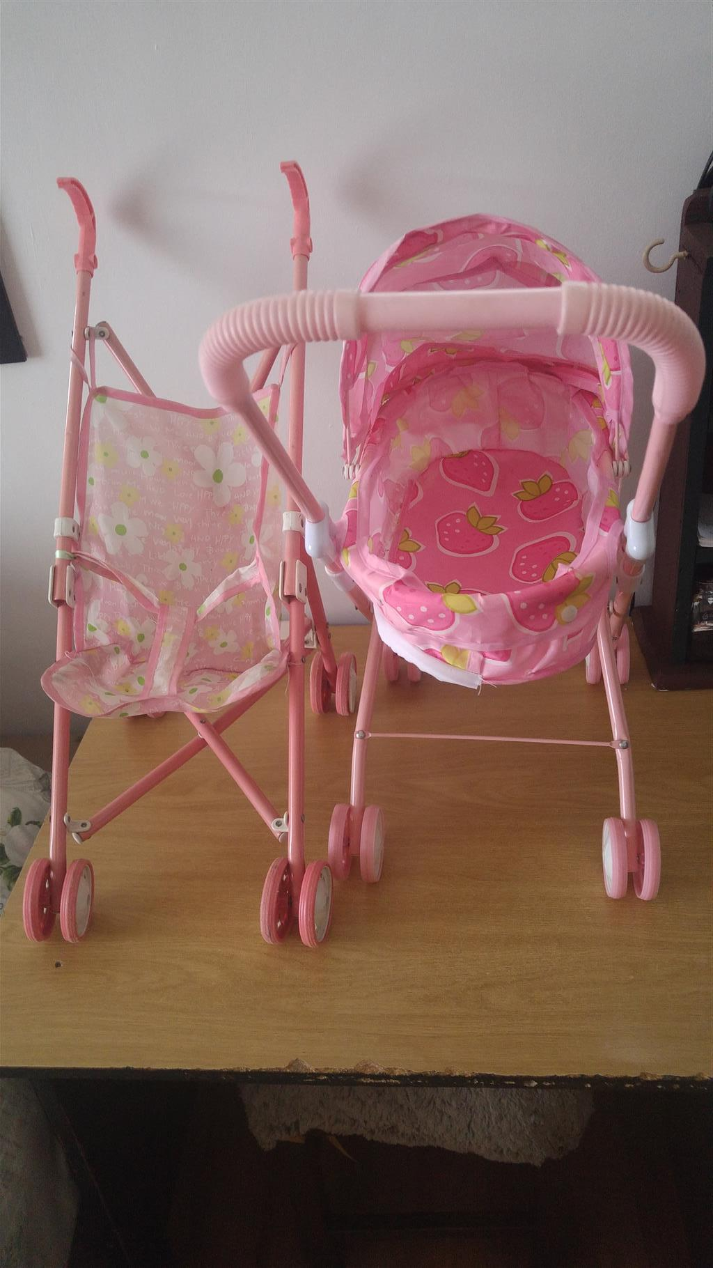 small dol prams