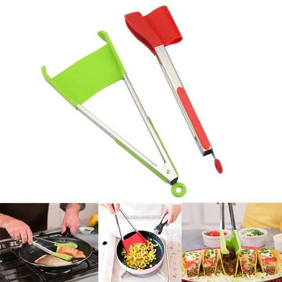 2 in 1 Clever Tongs