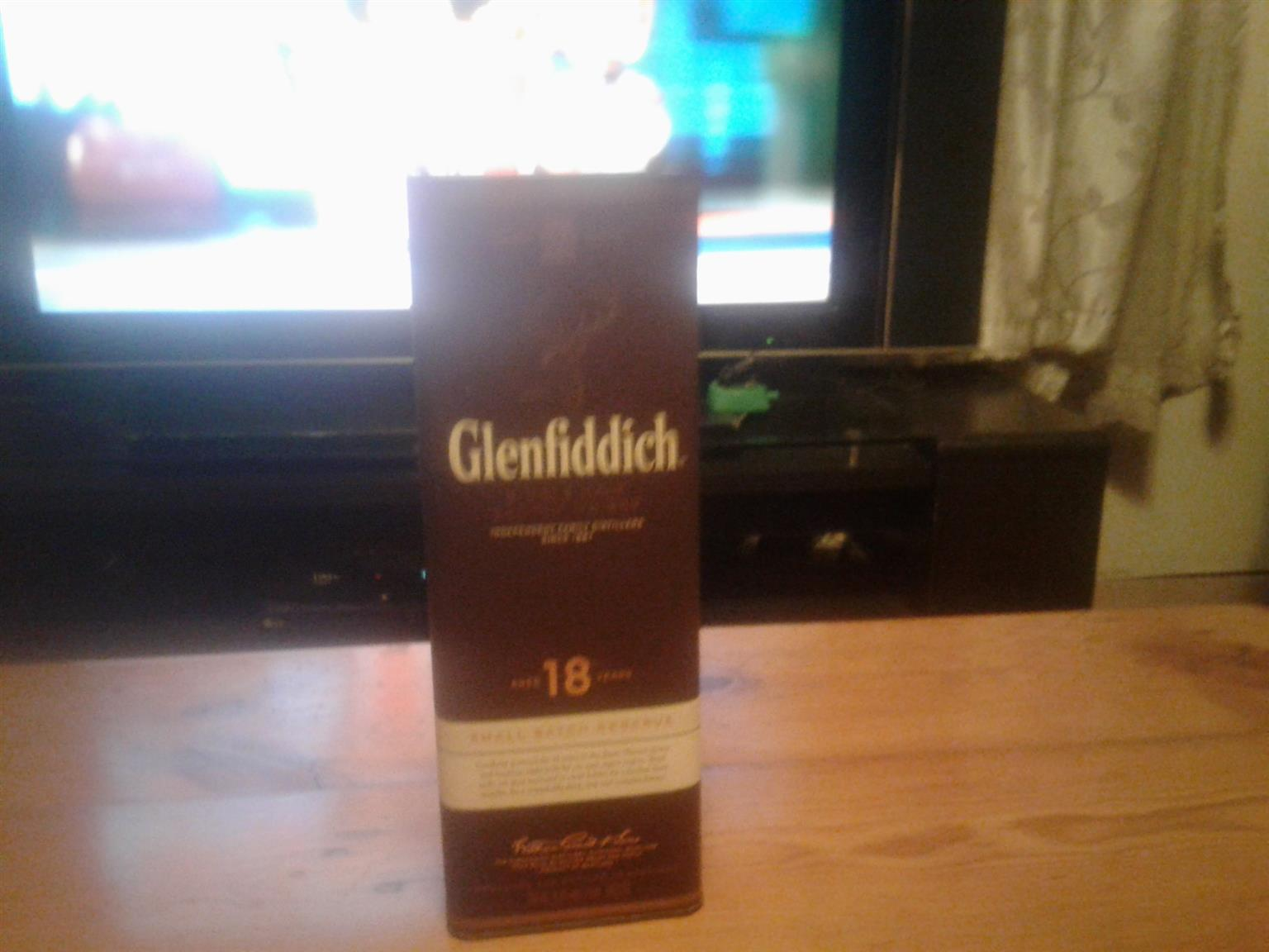 Glenfiddich 18year Whiskey