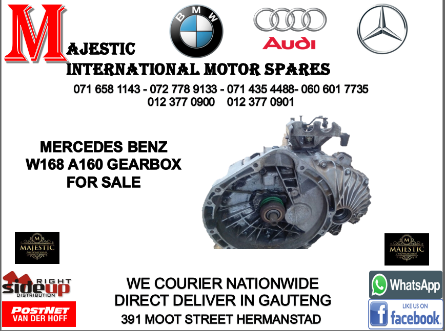 Mercedes benz W168 a160 auto gearbox for sale