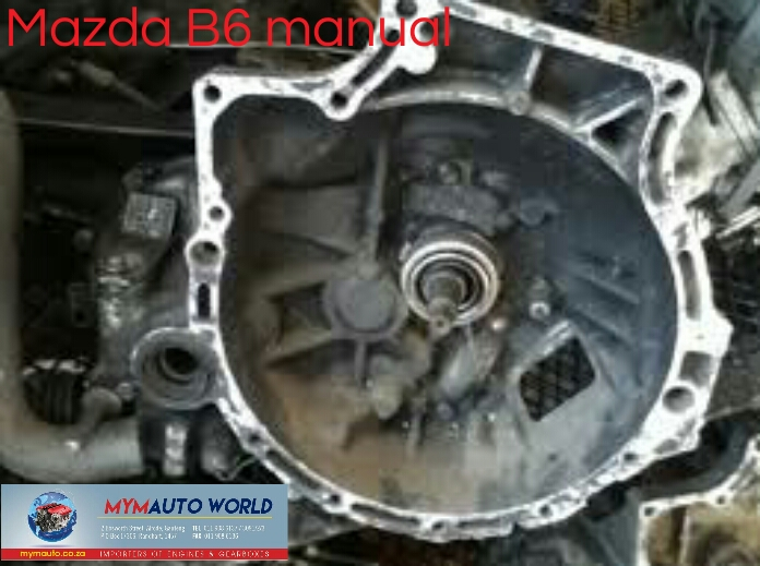 Imported used MAZDA B6 MANUAL gearboxes. Complete second hand gearbox
