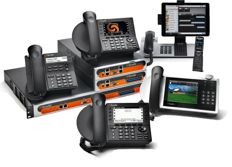 Shoretel Telephones and Switches