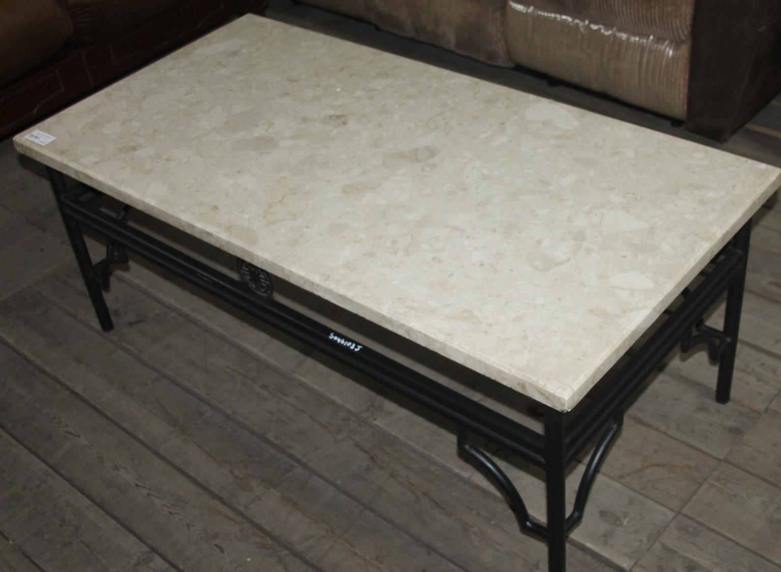 Granite coffee table S046103J #Rosettenvillepawnshop