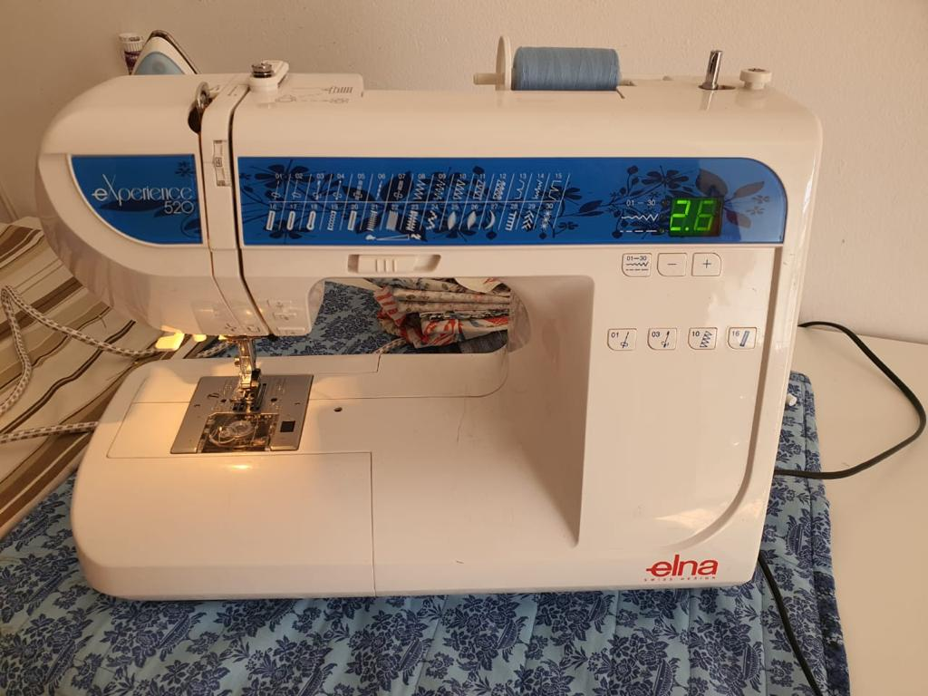 ELNA Experience 520 Sewing machine - complete with all accessories
