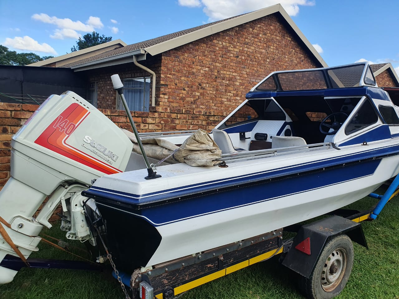 Nicely looked after boat