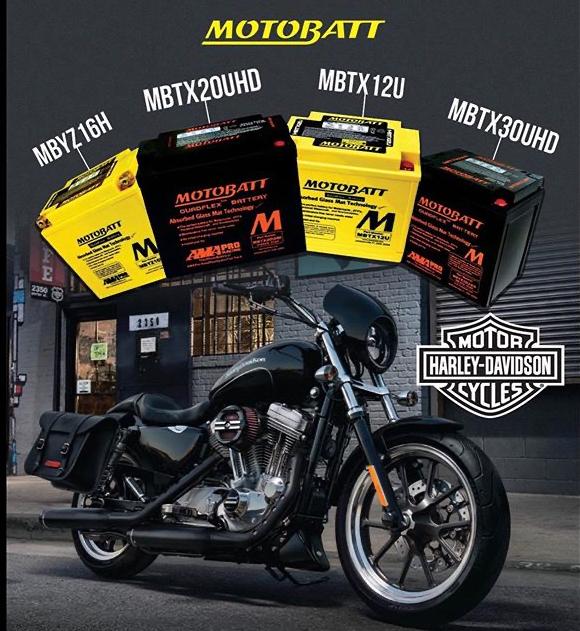 Motobatt motorcycle quad and jetski batteries