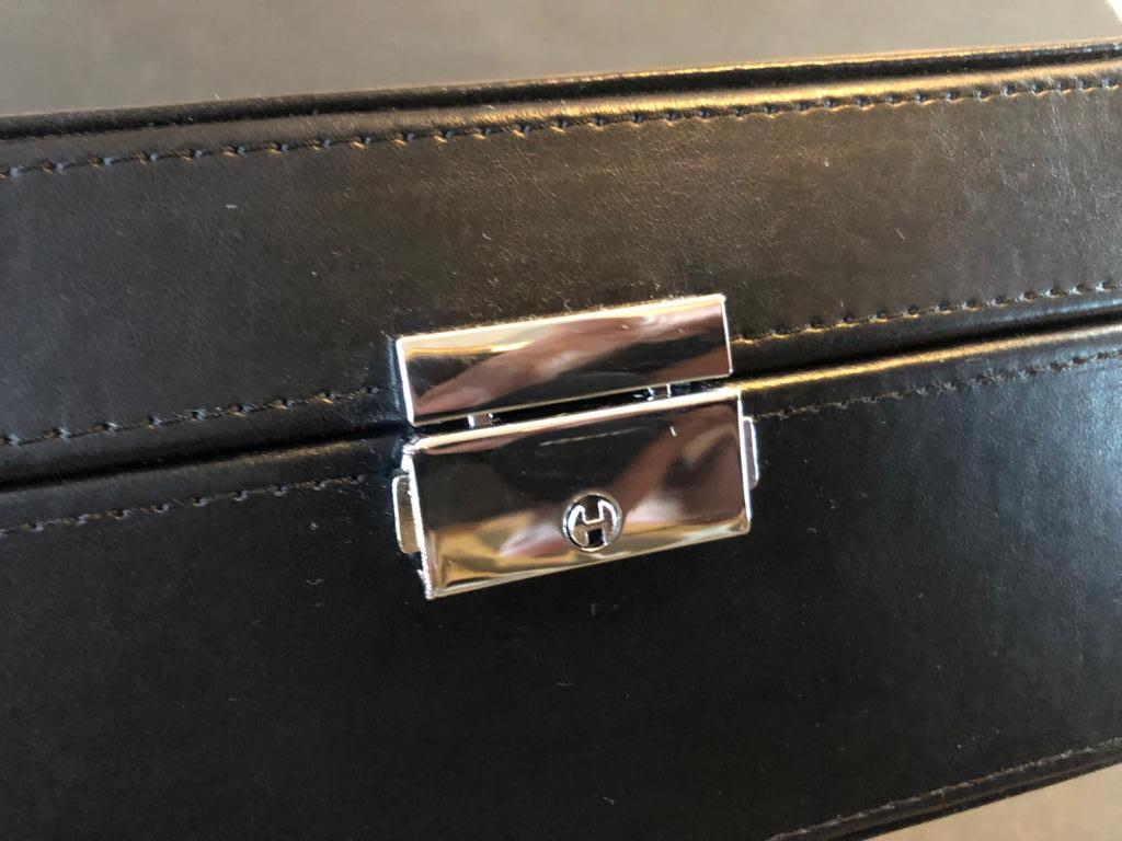 PU Leather Watch Display / storage Case - 6 Slot - Fathers day gift idea