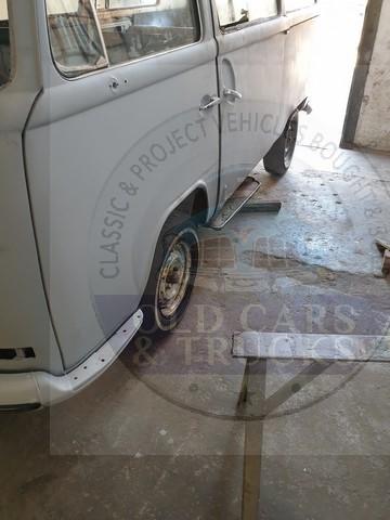 VW Kombi body on wheels