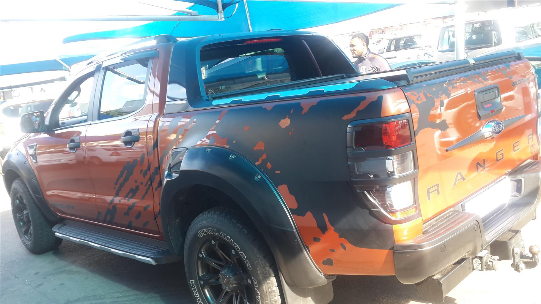 2015 Ford Ranger double cab RANGER 3.2TDCi WILDTRAK A/T P/U D/C