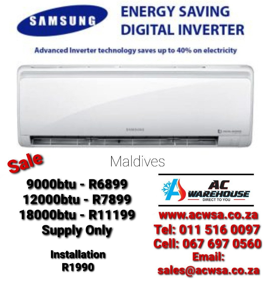 AC Warehouse SA. Online Airconditioning Store. We bring the best deals to you.