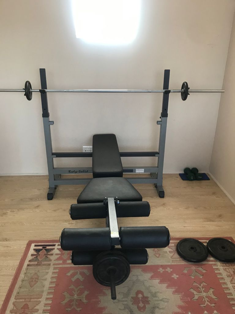Body solid Bench press gym