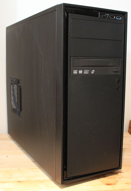 Intel Core i5 4th cpu 2.6ghz, Hdd 500gb Ram 8gb dvd writer loaded