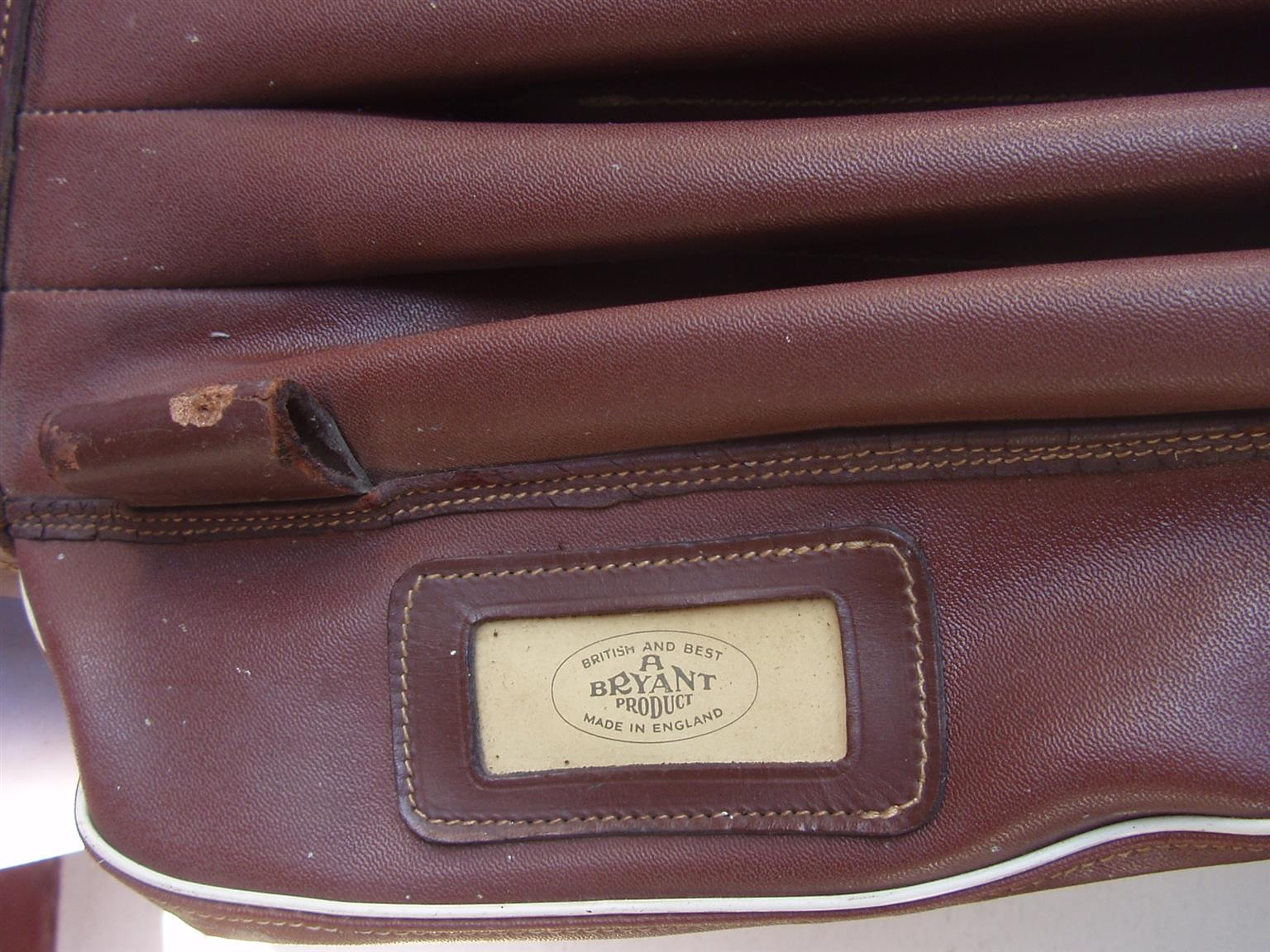 Bryant 'The Birkdale' Leather Golf Bag