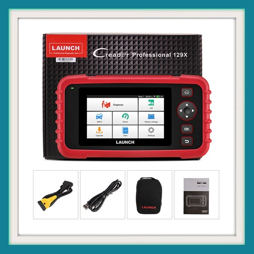 LAUNCH CRP129X OBD2 Scan Tool 4 System Diagnoses with special functions