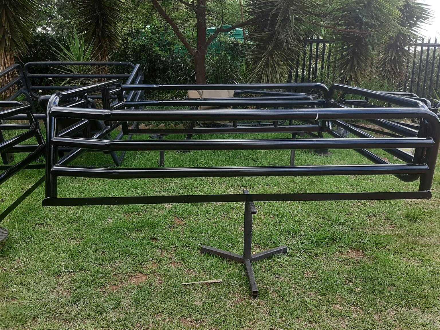 Bakkie frame for extended cab