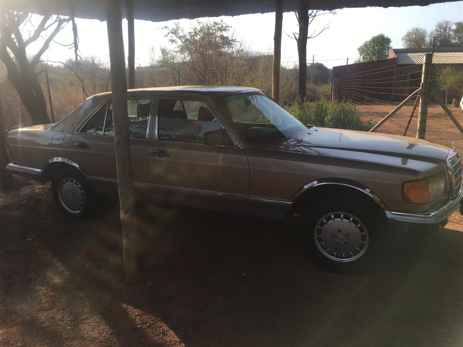 1984 Mercedes Benz 380 se