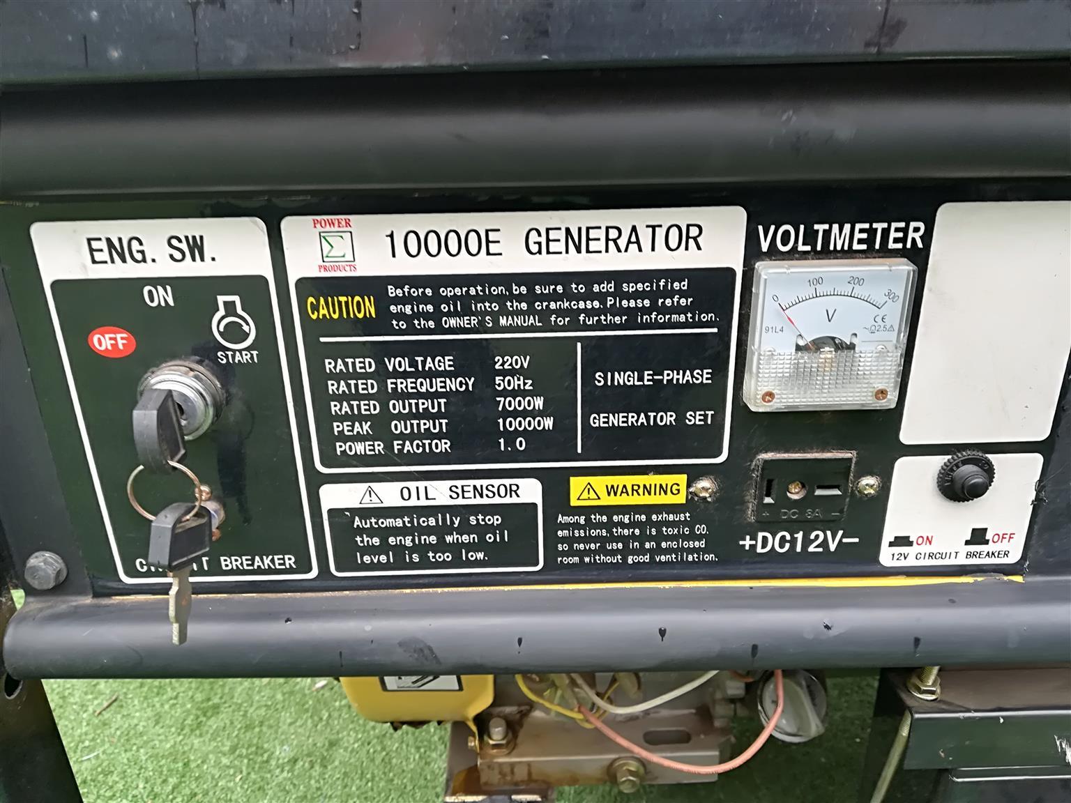 Generator 7kw