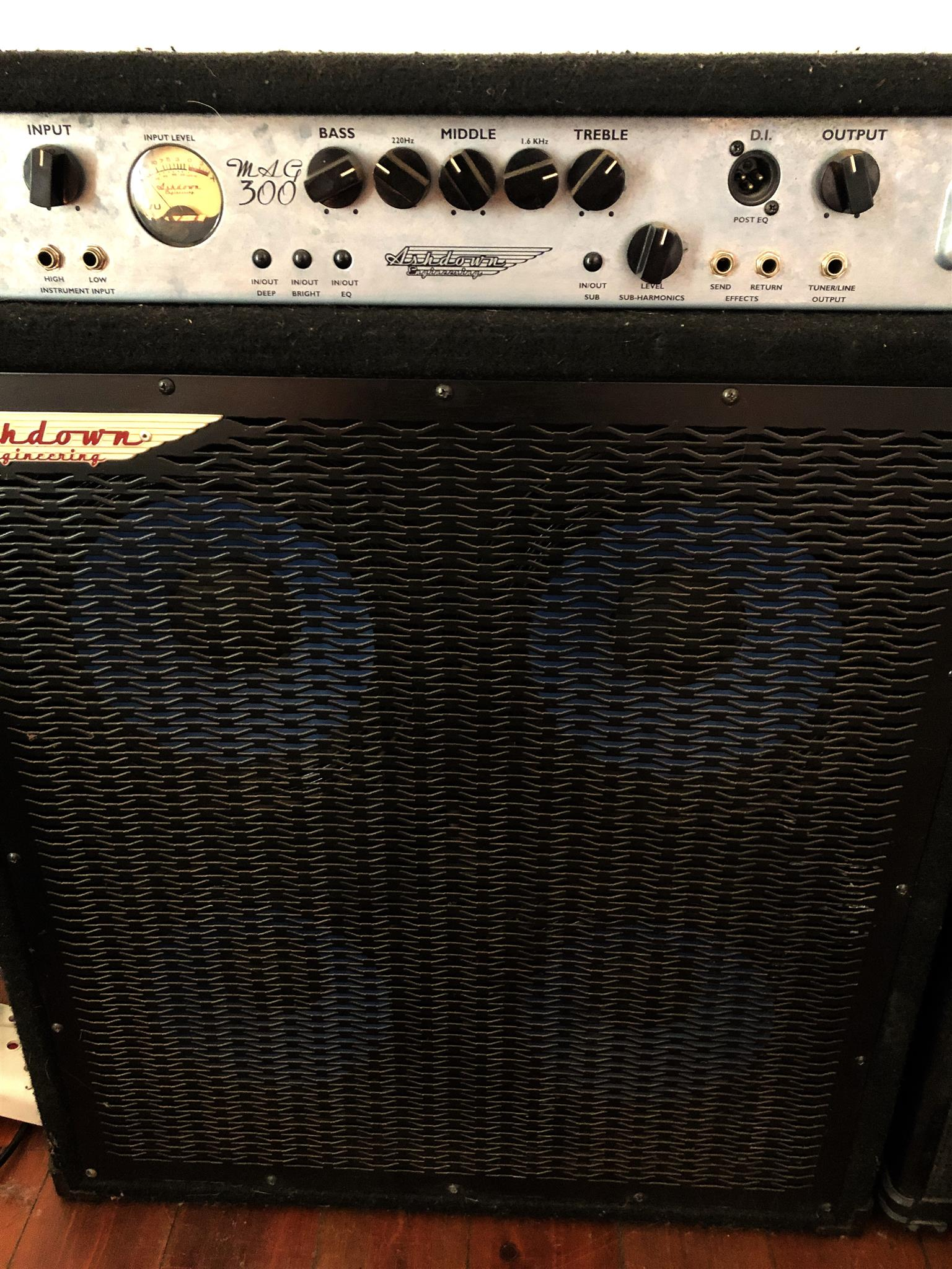 Ashdown Bass Amp Combo MAG 300