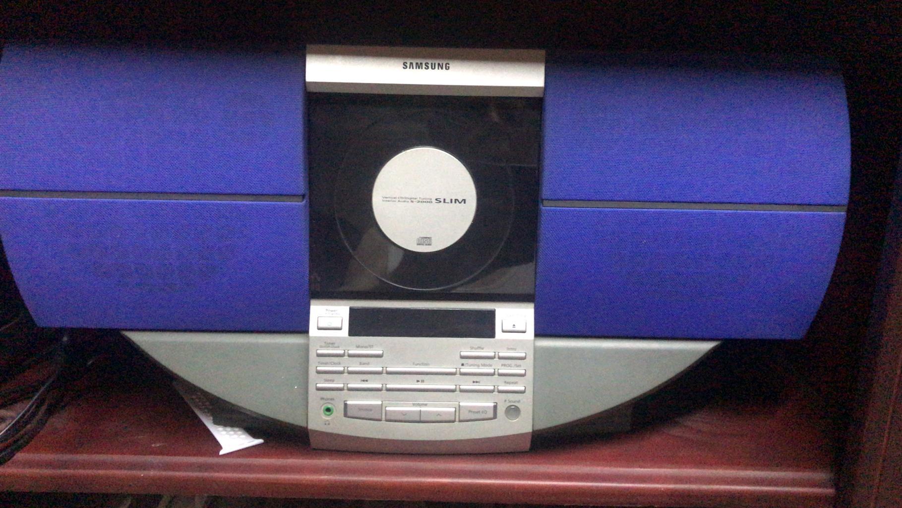 Samsung compact unit