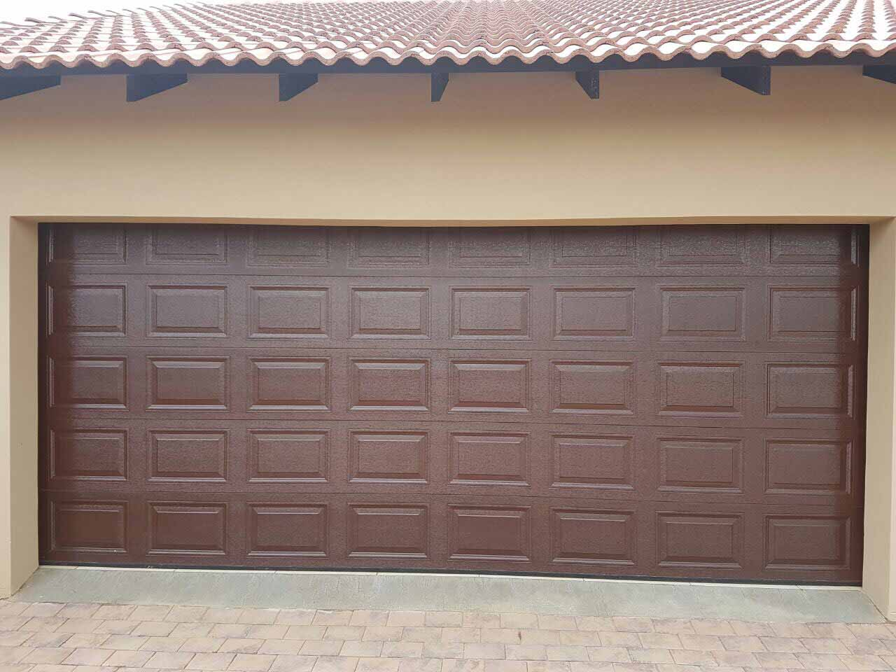 New Roll Up And Sectional Single And Double Garage Doors