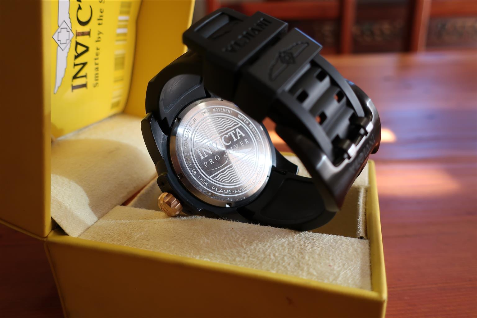 Invicta Pro Diver one hour Cronograph