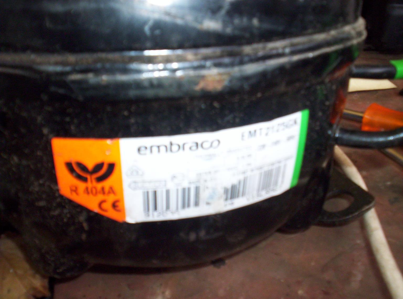 1/4 hp refrigeration compressors r404 gas