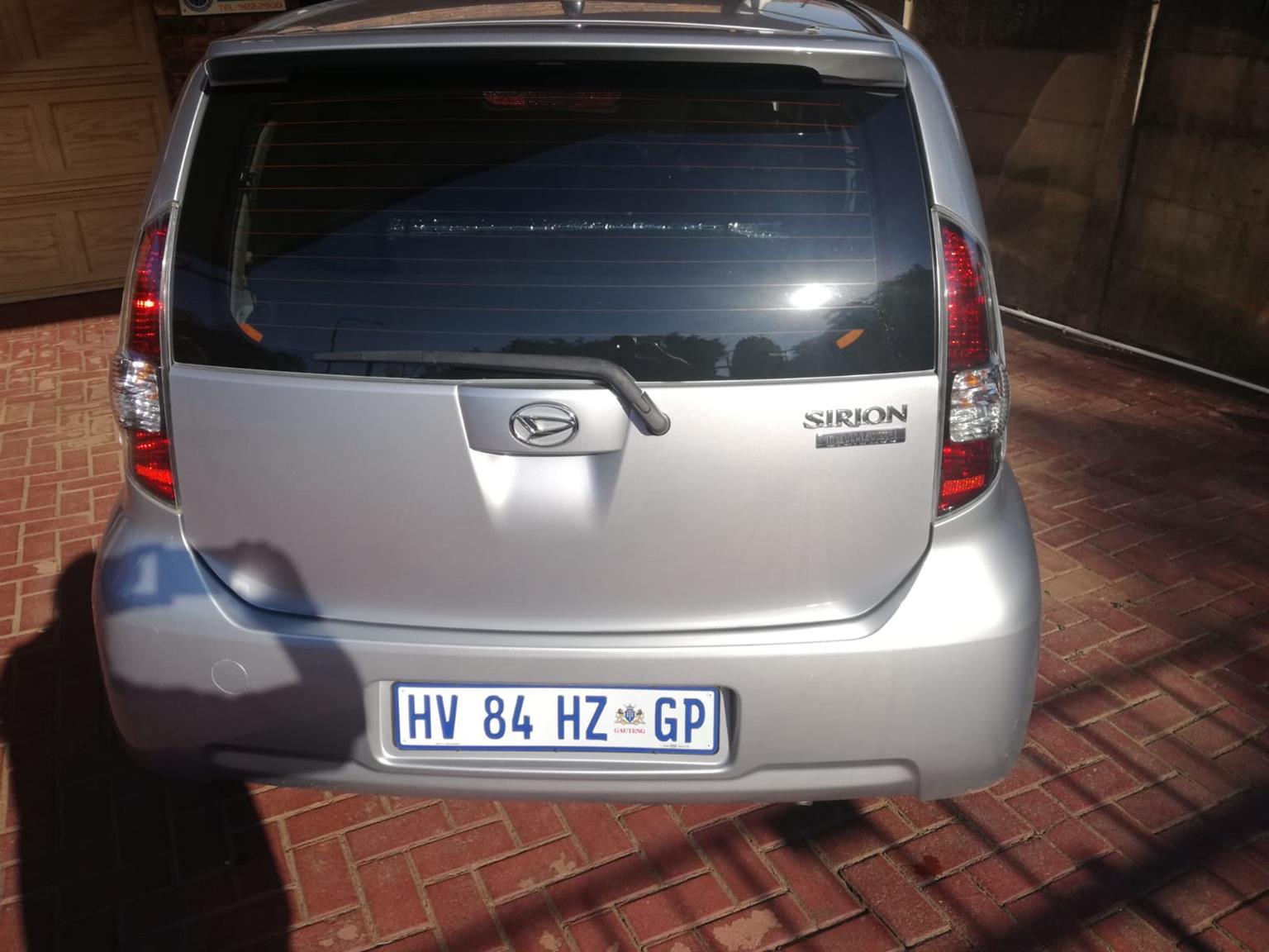 2010 Daihatsu Sirion 1.5 Sport auto