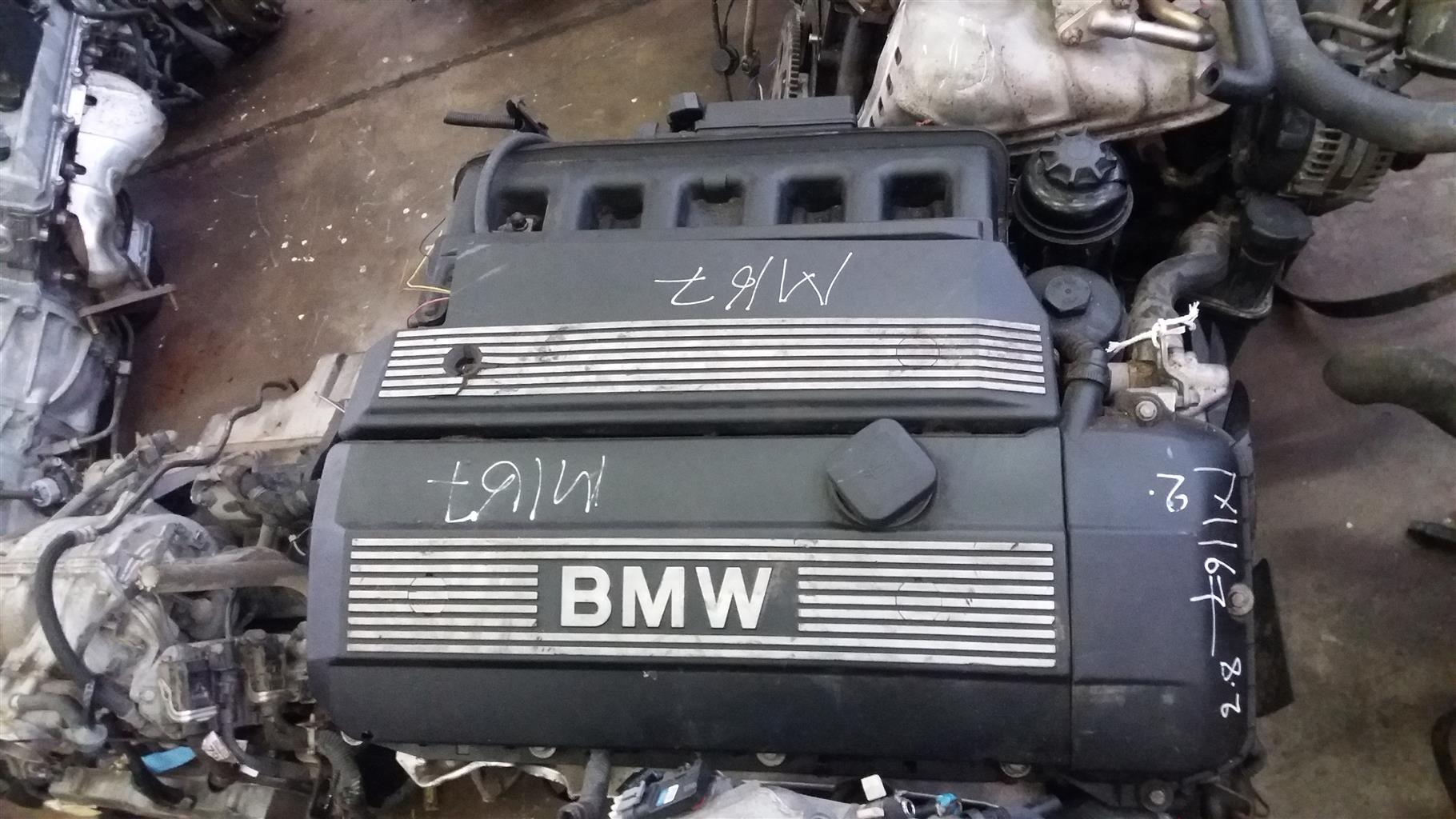 BMW 328i Double Vanos Engine # 286S2