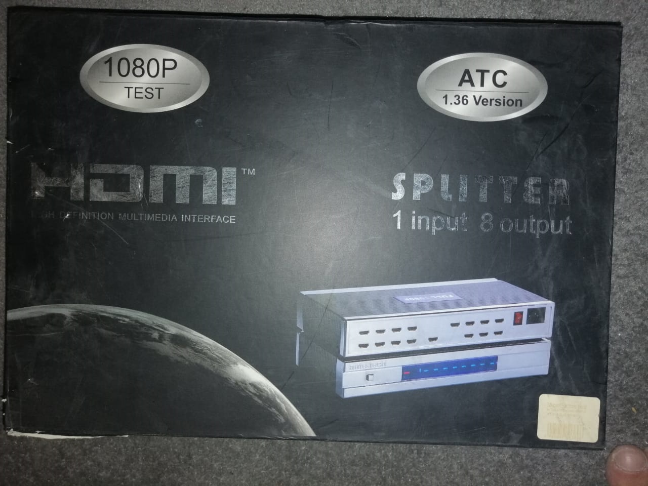 HDMI Splitter - ATC 1.36 - 1 in 8 Out - Full HD 1080P