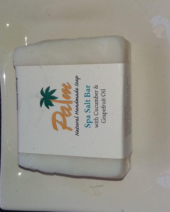Make Natural Spa Salt Soap part of your beauty regime
