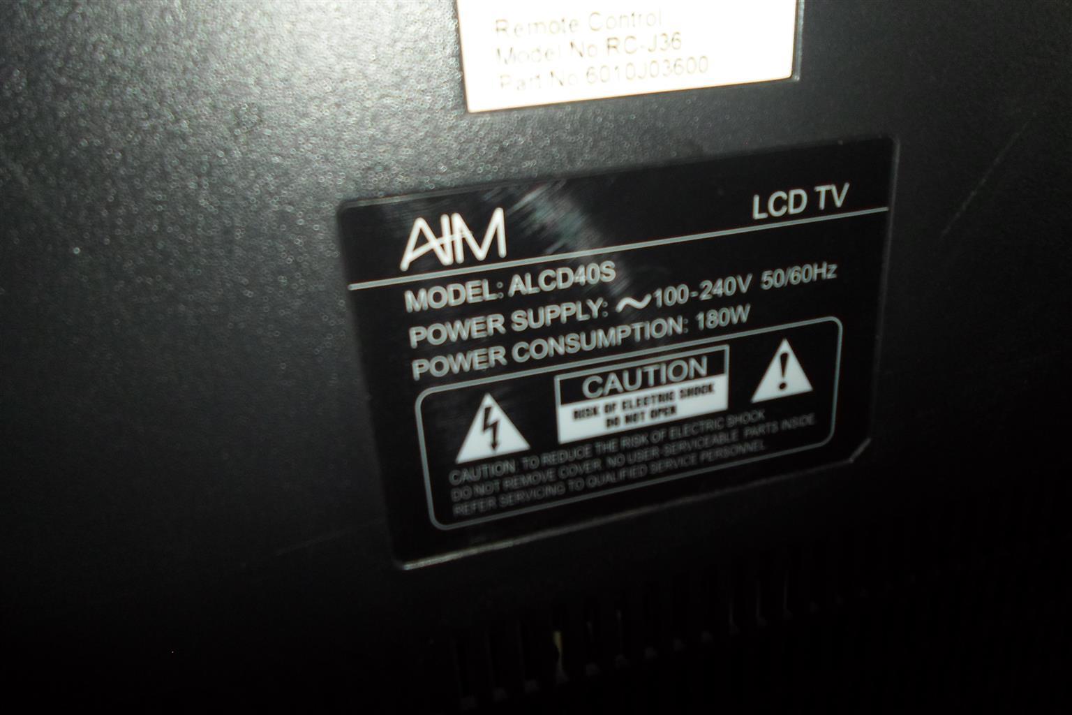"36"" AIM Television"