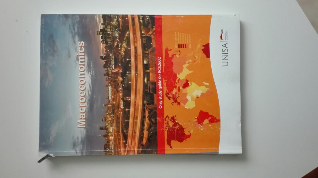 Text Book Macroeconomics Unisa Study Guide ECS2602